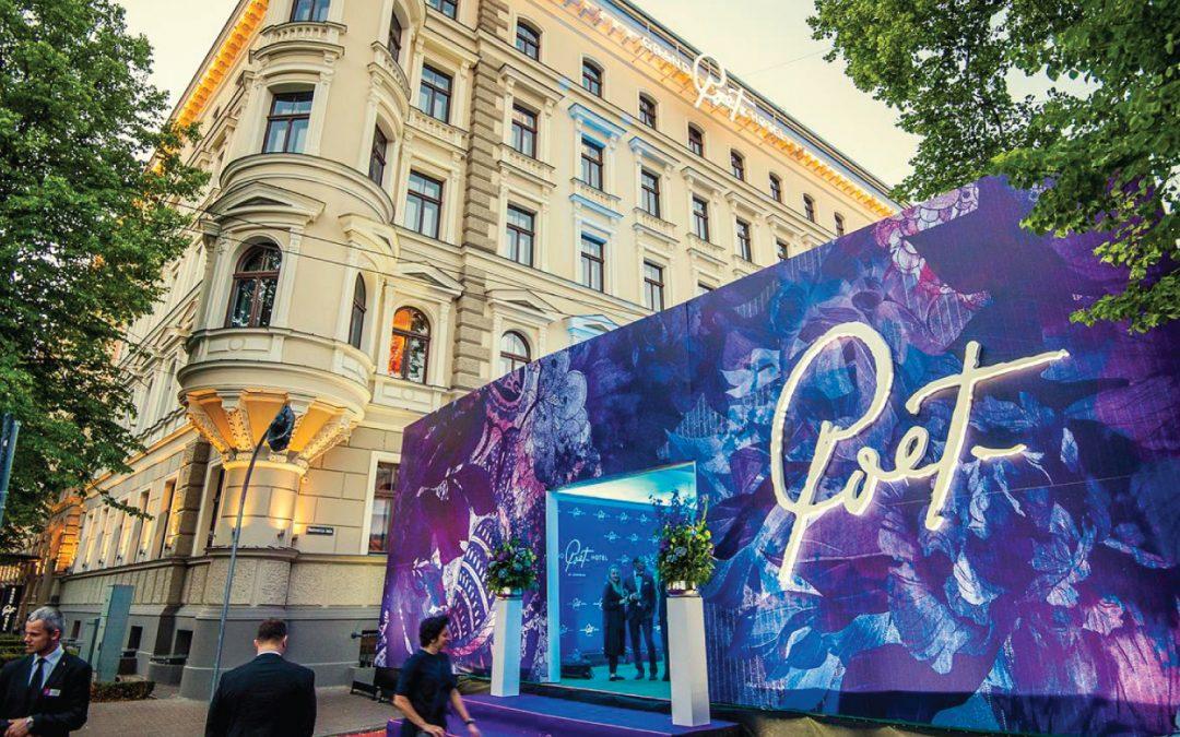 """Открыта первая дизайнерская гостиница в Риге """"Grand Poet Hotel"""""""